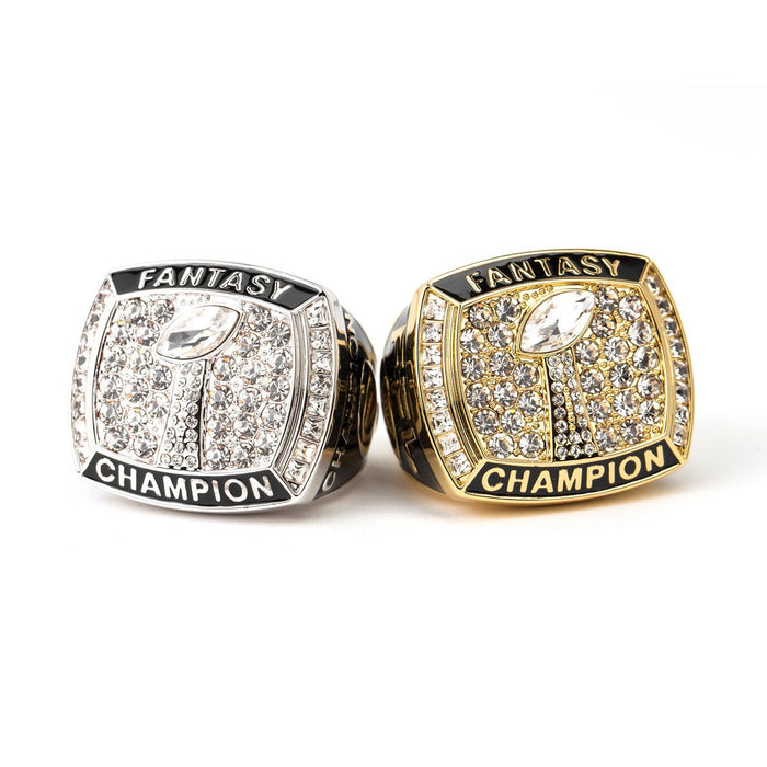 The High Roller Fantasy Football Championship Ring