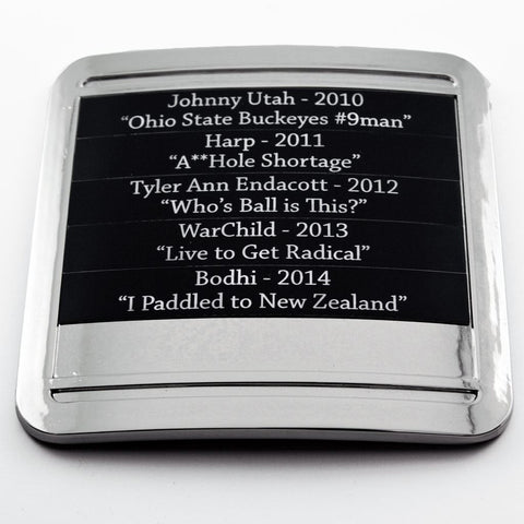 Trophies - Laser Engraved Plaques (Mid-Plate)