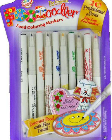 Food Coloring Markers by FooDoodler