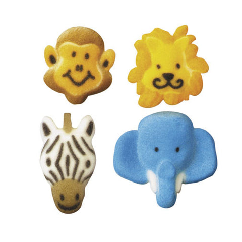 Jungle Animal Sugar Pieces