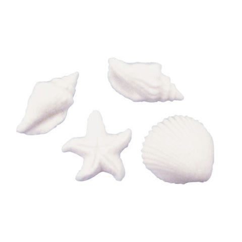 Seashell & Starfish Sugar Pieces