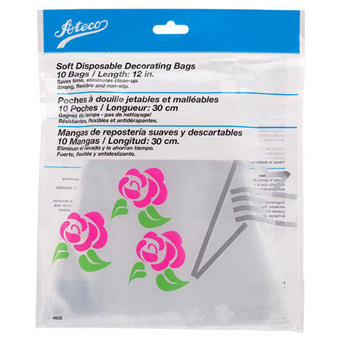 "12"" Soft Disposable Decorating Bags"