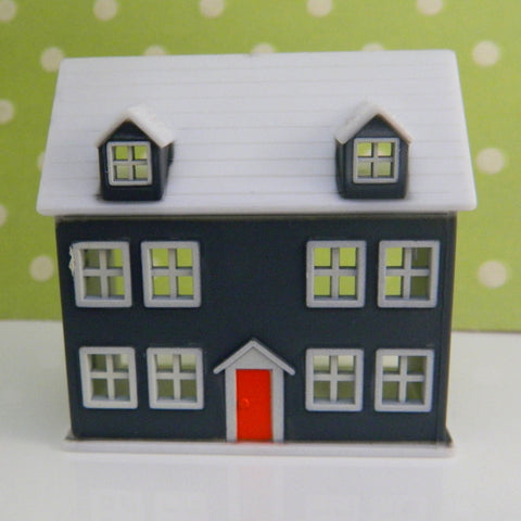 Retro Dream House Cake Topper