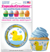 Rubber Duck Cupcake Liners