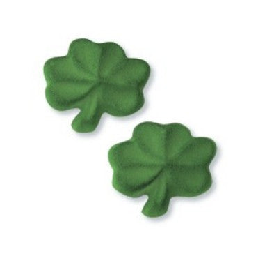 St Patricks Day Shamrock Sugar Pieces