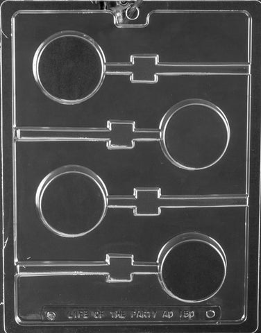 Plain Oreo Cookie Lollipop Candy Mold