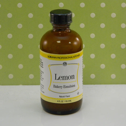 Lemon Flavor Baking Emulsion