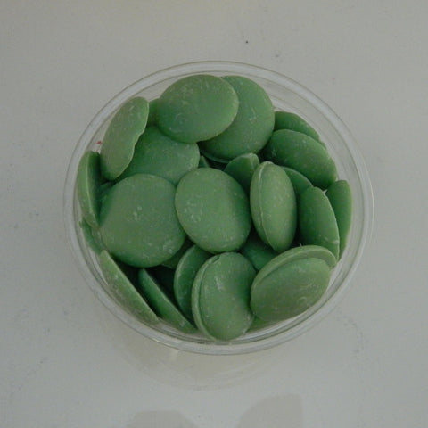 Merckens Light Green Candy Coating