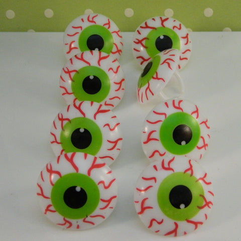 Scary Eyeball Rings