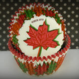Fall Leaves Cupcake Liners
