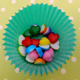 Rainbow Mini Sugar Hearts