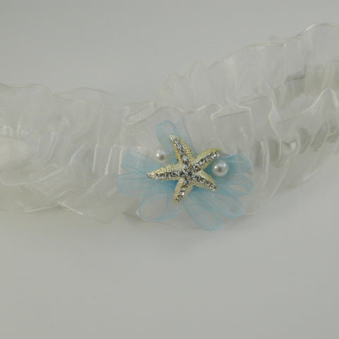 Starish Bridal Wedding Garter