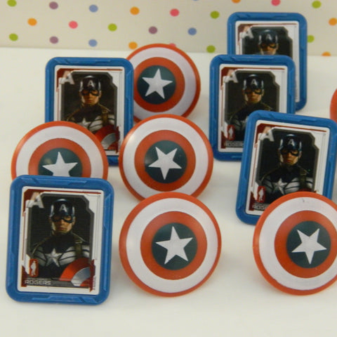 Captain America Rings