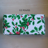 Christmas Holly & Berry 1/2 lb Box