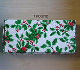 Christmas Holly 1 lb Box