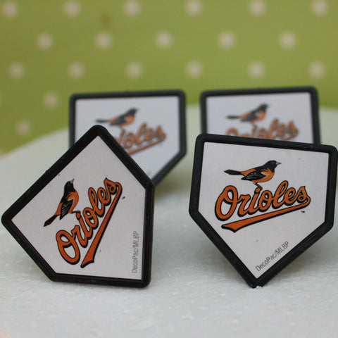 Baltimore Orioles Cupcake Rings