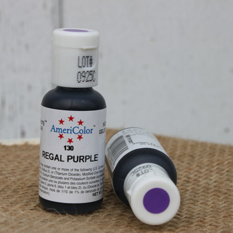 Regal Purple Gel Coloring