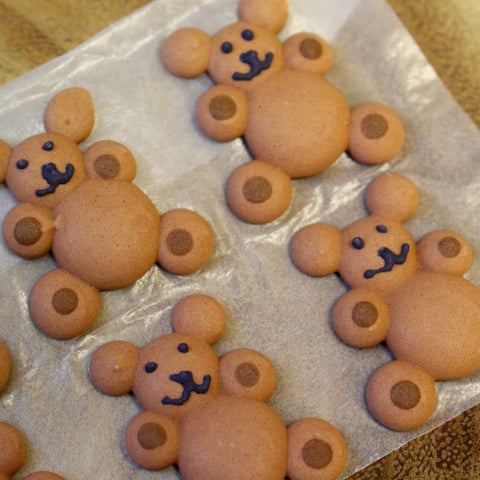 Teddy Bear Icing Pieces