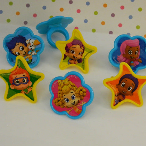 Bubble Guppies Rings