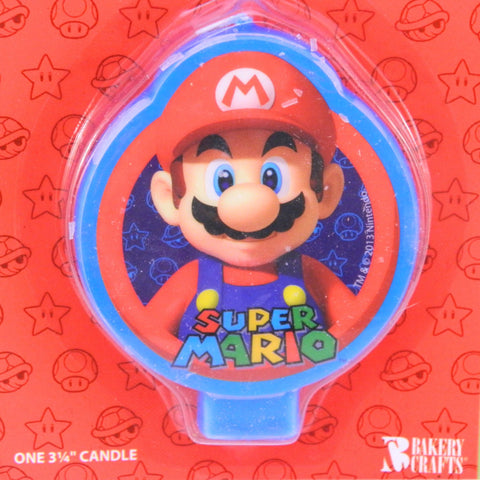 Super Mario Brothers Candle