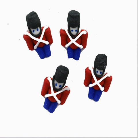 Royal Icing Toy Soldiers