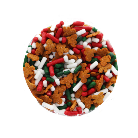 Christmas Gingerbread Sprinkle Mix