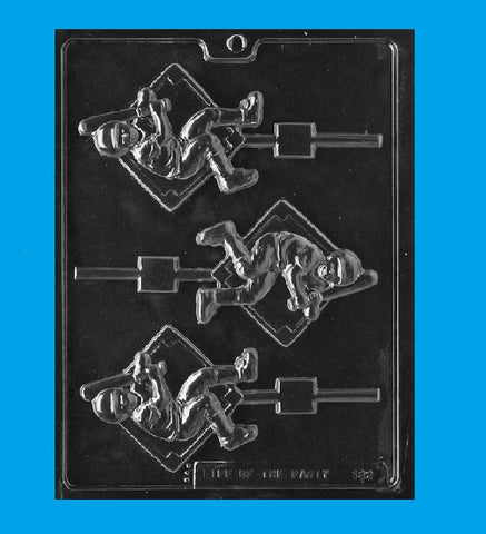 Baseball Player Candy Mold