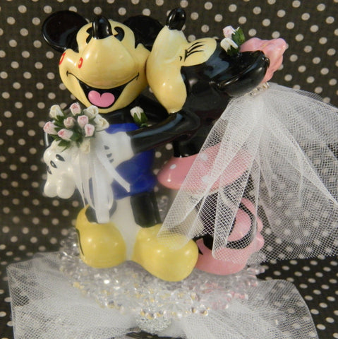 Mickey and Minnie Wedding Cake Topper