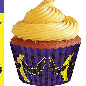 Scatter Bats Cupcake Liners