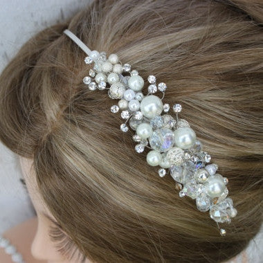 Rhinestone and Crystal Bridal Headband