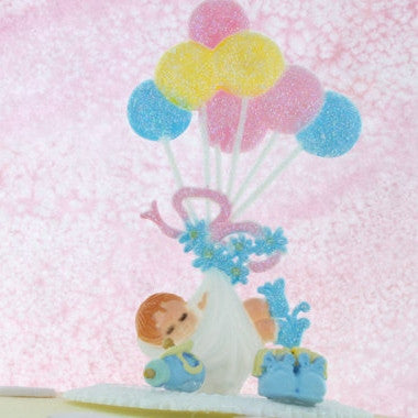Baby Boy Cake Topper/ Baby Shower