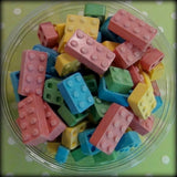 Edible Candy Building Blocks