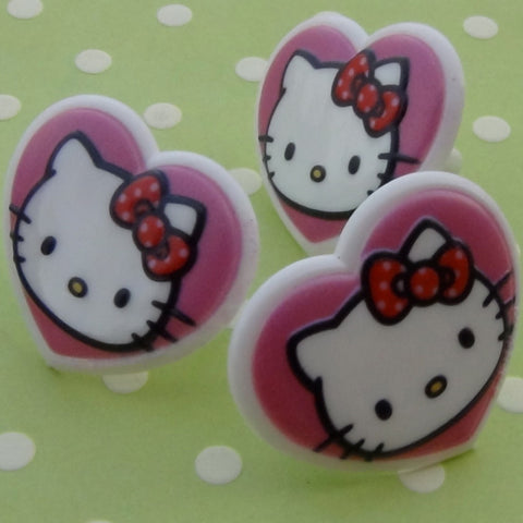 Hello Kitty Heart Rings