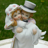 Vintage Christopher Collection Bride and Groom