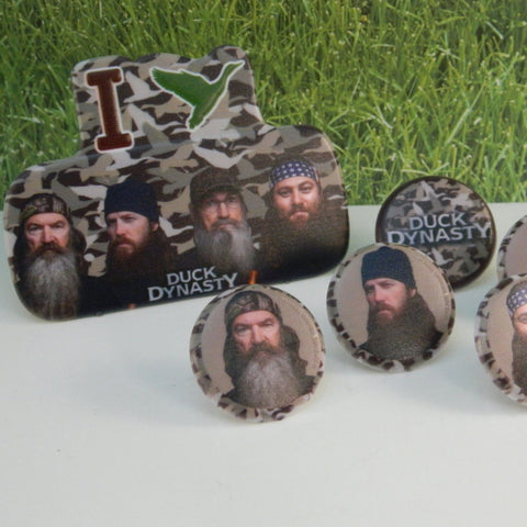 Duck Dynasty Topper Set