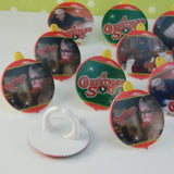 A Christmas Story Cupcake Rings