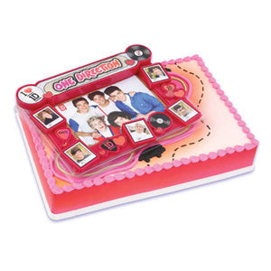 One Direction Cake Topper Decoration
