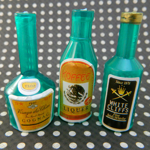 Vintage Liquor Bottle Topper Decorations