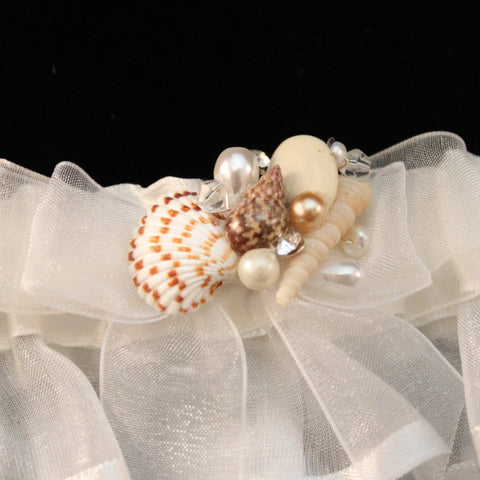 Seashell Beach Theme Garter