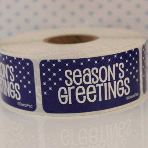 Season's Greetings Sicker Labels