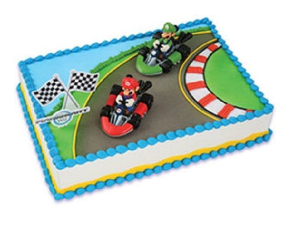 Super Mario Brothers Racing Cake Kit Christy Marie S