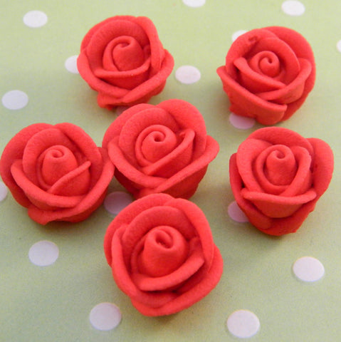 Mini Icing Red Roses