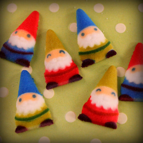 Gnomes Edible Sugar Assortment