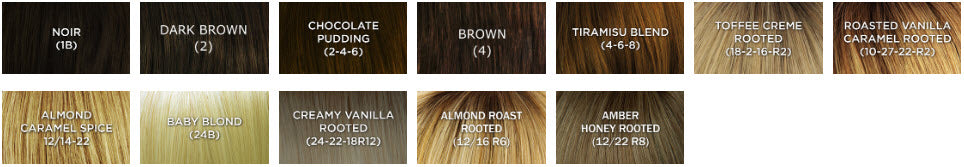dimples adele wig color chart
