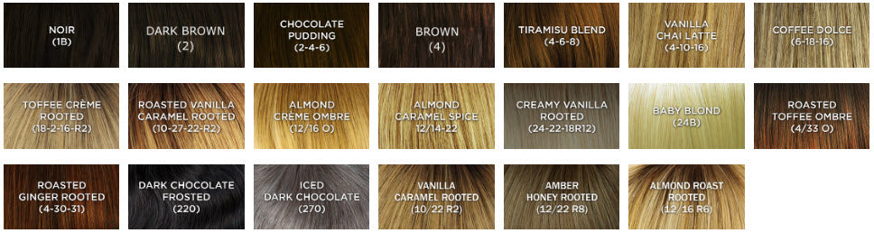 dimples ashley wig color chart