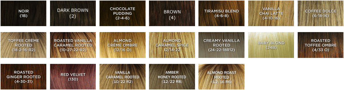 dimples kylie wig color chart