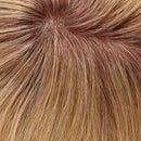 "Top Form French 12"" Exclusive Colors Human Hair Topper by Jon Renau 