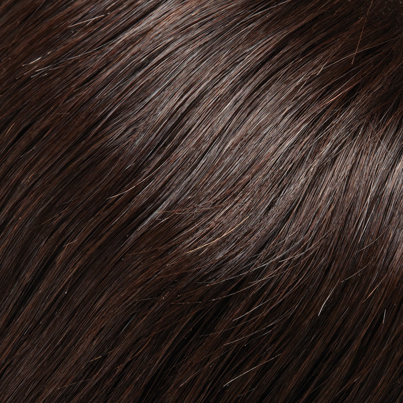 "Top Form 6"" - 8"" Exclusive Colors Human Hair Topper by Jon Renau 