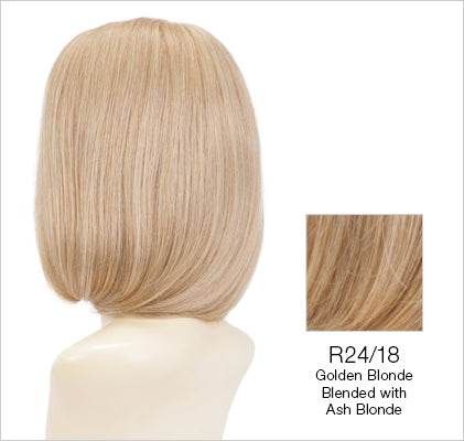 Emmeline Wig By Estetica - Remy Human Hair Bob Wig w/ 100% Hand-Tied Mono Top