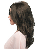 Liliana Wig By Estetica - Long Remy Human Hair Wig w/ Curls and a 100% Hand-Tied Mono Top